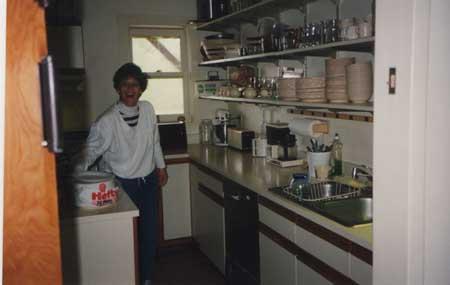 Sue in the Kitchen