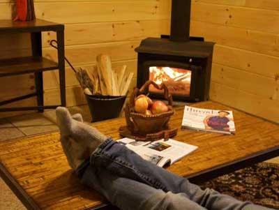 Deluxe 1 Bedroom Cabins In Vermont Sterling Ridge Resort