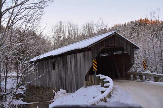 Covered Bridge Winter